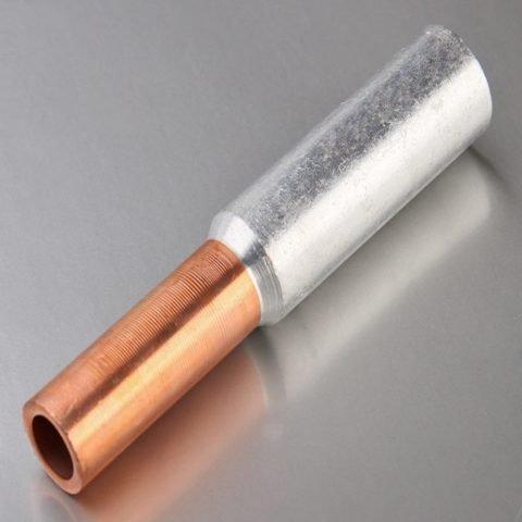 Гильза для опрессовки медных и алюминиевых проводов разного сечения