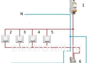 Схема управления освещением – виды, назначение и способы реализации