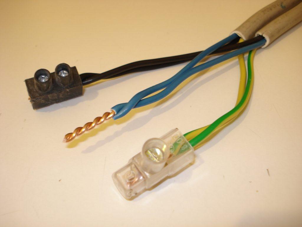 Виды соединения электропроводки