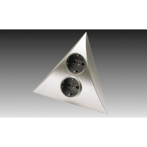 На фото представлен один из вариантов угловой розетки