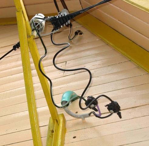 Электрический ввод проводом СИП
