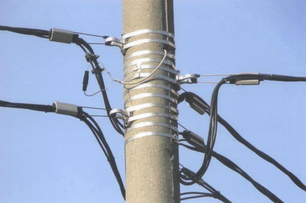 Провода СИП просты в монтаже и эксплуатации