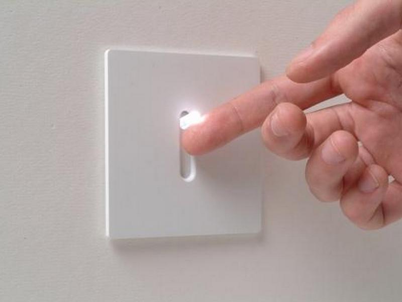 Включение освещения от выключателя
