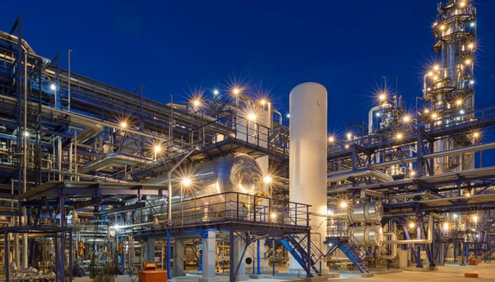Наружное освещение промышленных предприятий