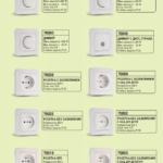 Розетки и выключатели Макел: обзор моделей