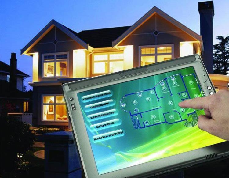 Управление сетью освещения в доме