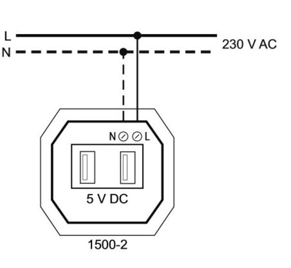 Подключение USB розеток