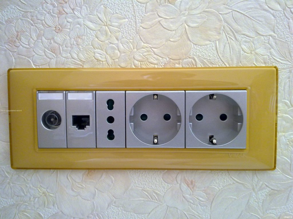 Электроустановочные изделия Vimar
