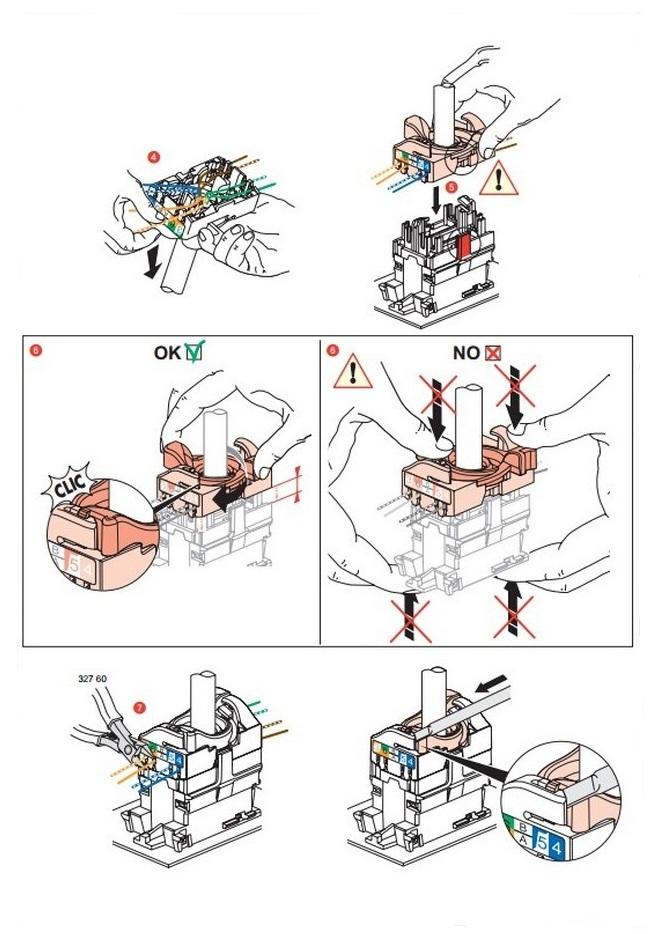 Подключение коннектора быстрый монтаж