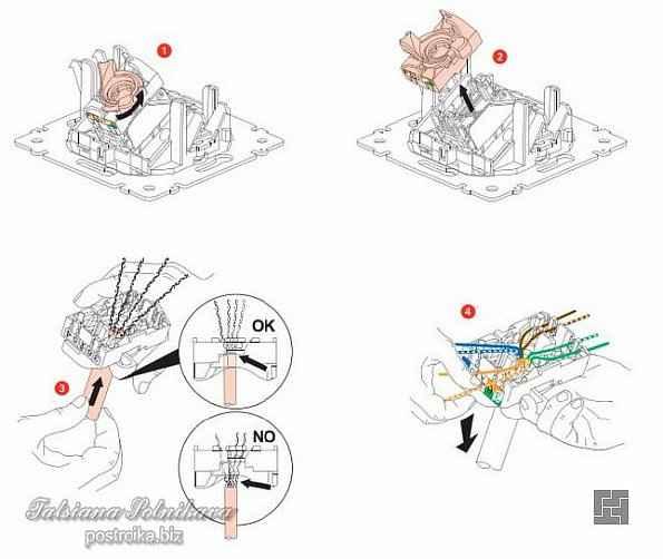 Способы подключения коннектора