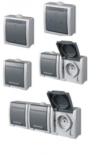 Выбираем выключатели и розетки для наружной установки