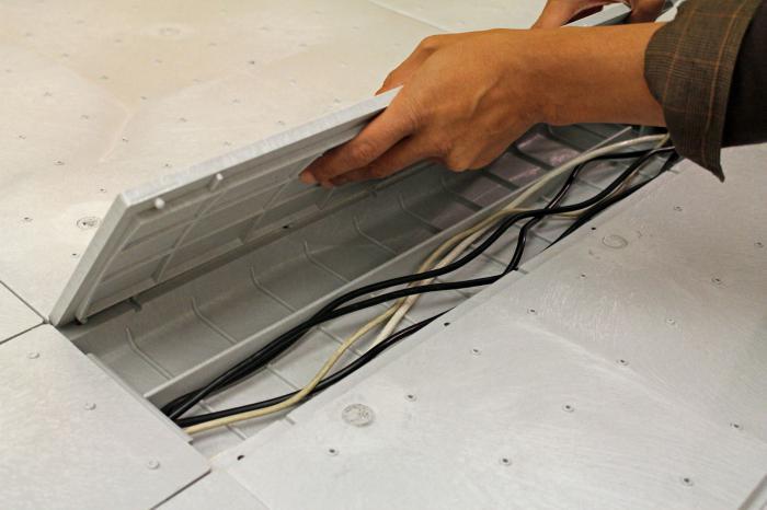 Применение металлического короба для скрытой проводки