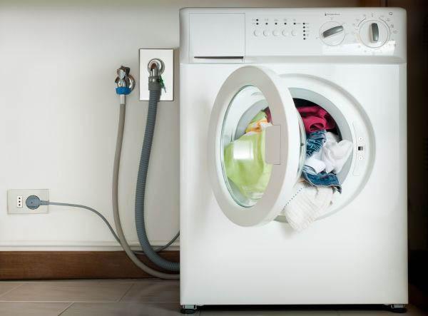 Где установить розетку для стиральной машины