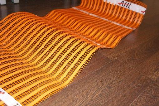 Электрический теплый пол на основе аморфно металлической ленты