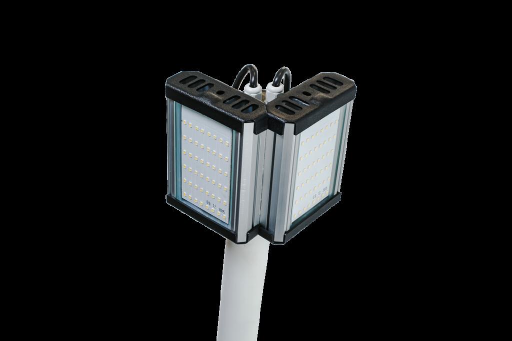 Двусторонний светодиодный фонарь рассеянного света