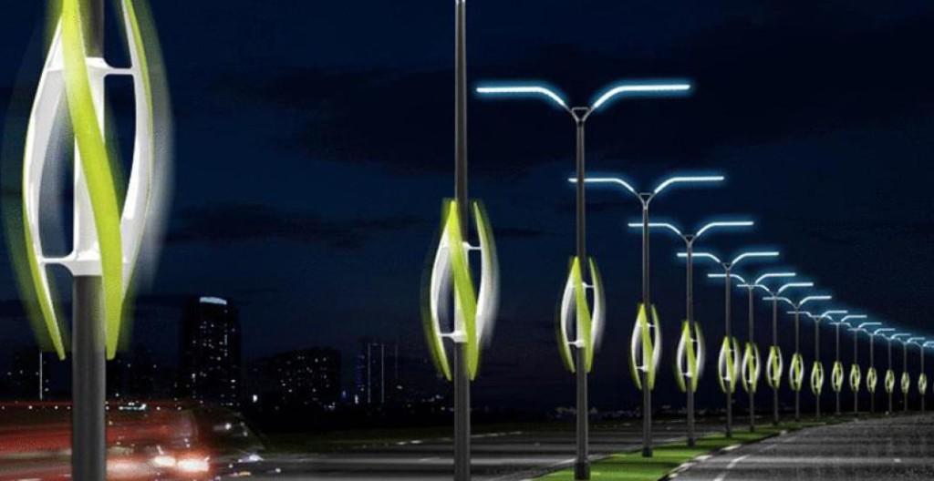Интересная модель уличного фонаря способная украсить любой город