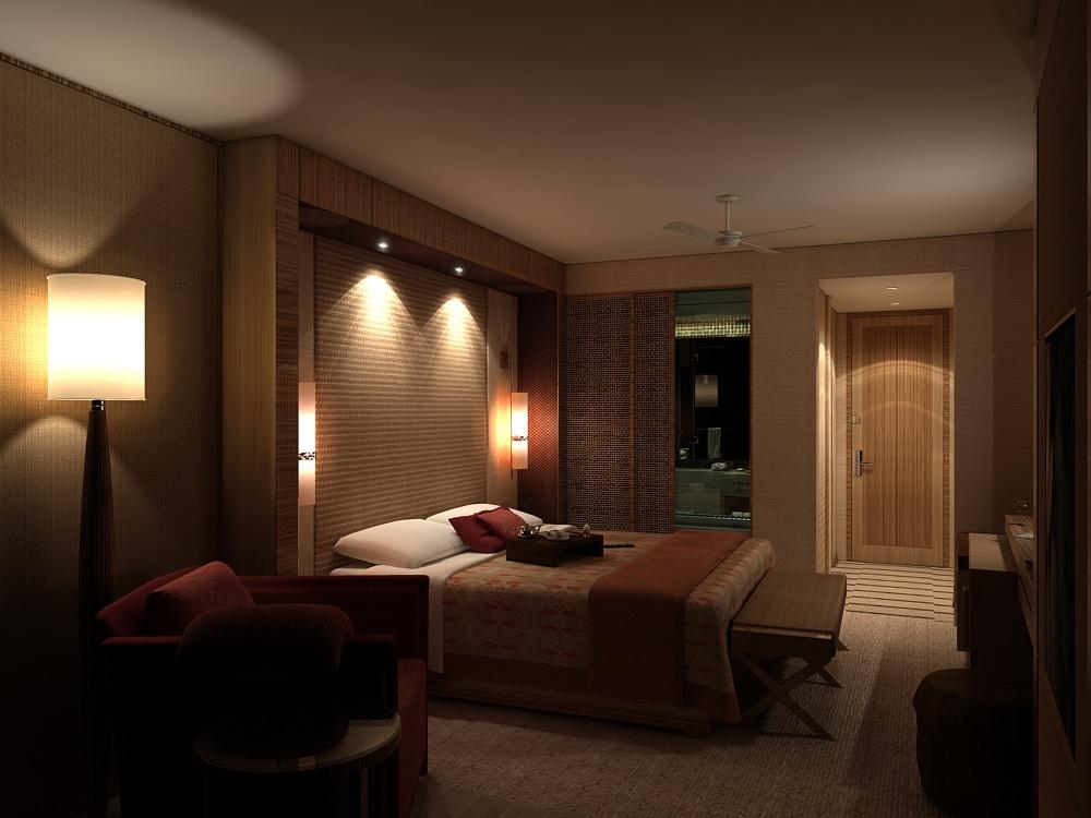 Правильное освещение изголовья кровати в спальне