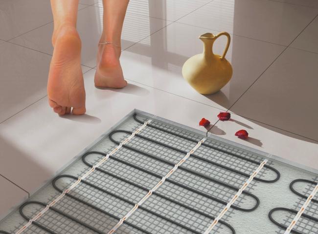 Выбираем теплый пол для ванной комнаты