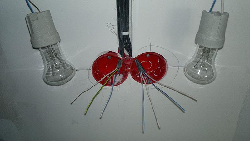 Как подключить розетку, выключатель и запитать их друг от друга