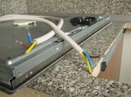 Монтируем проводку для электроплиты