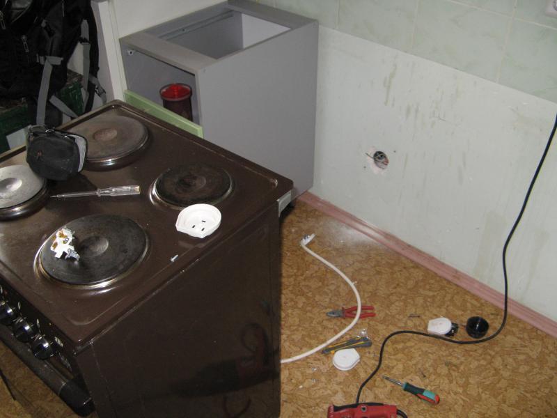 Подключаем электрическую печь