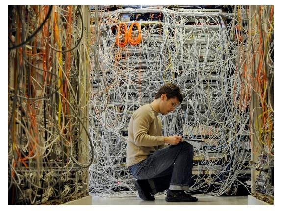 Правила монтажа сетевого оборудования