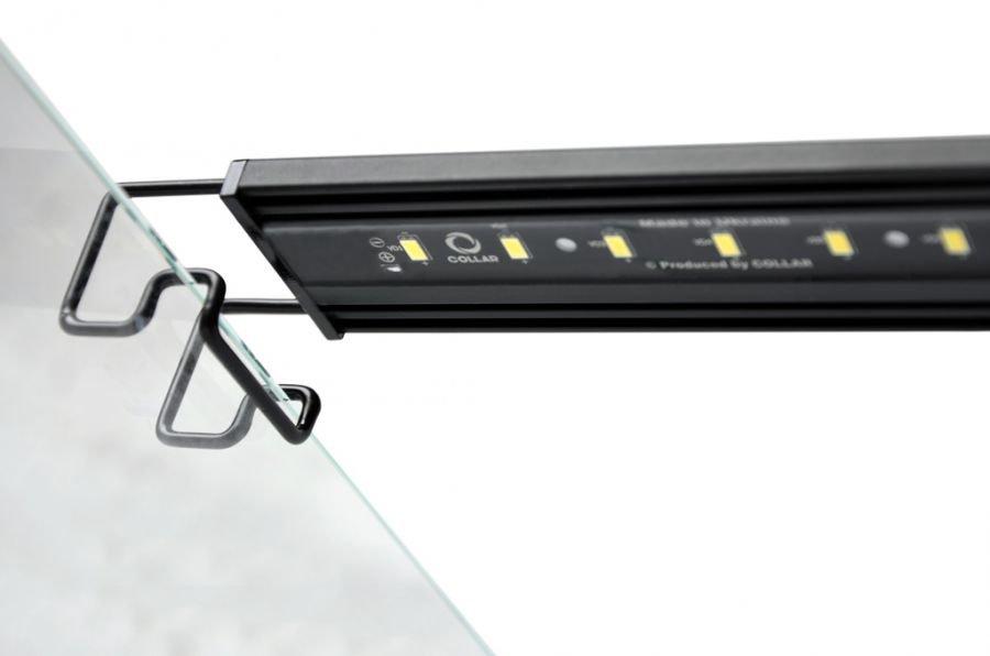 Специальный держатель для светодиодной ленты, устанавливаемый поверх стенок аквариума