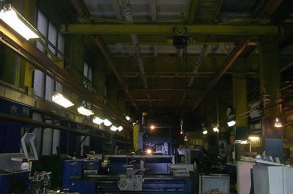 Освещения безопасности на промышленных объектах
