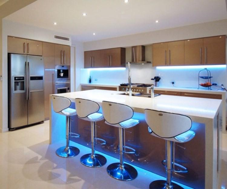 Особенности выбора типа освещения для кухни
