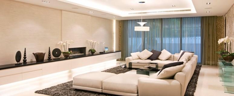 Создаем правильное освещение для гостиной