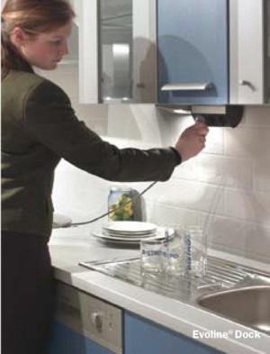 Угловые розетки на фартук кухни
