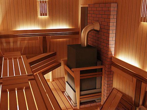 Как сделать правильное освещение в бане?