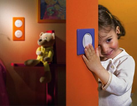 Место установки выключателя в детской