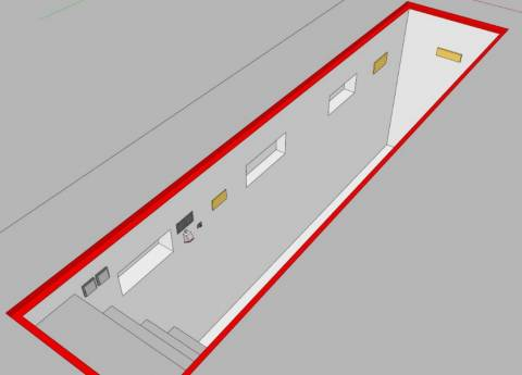 На фото представлен возможный план смотровой ямы