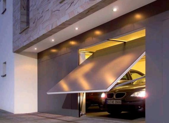 Наружное освещение гаража