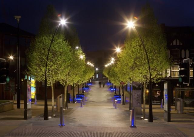 Наружное освещение парковых зон