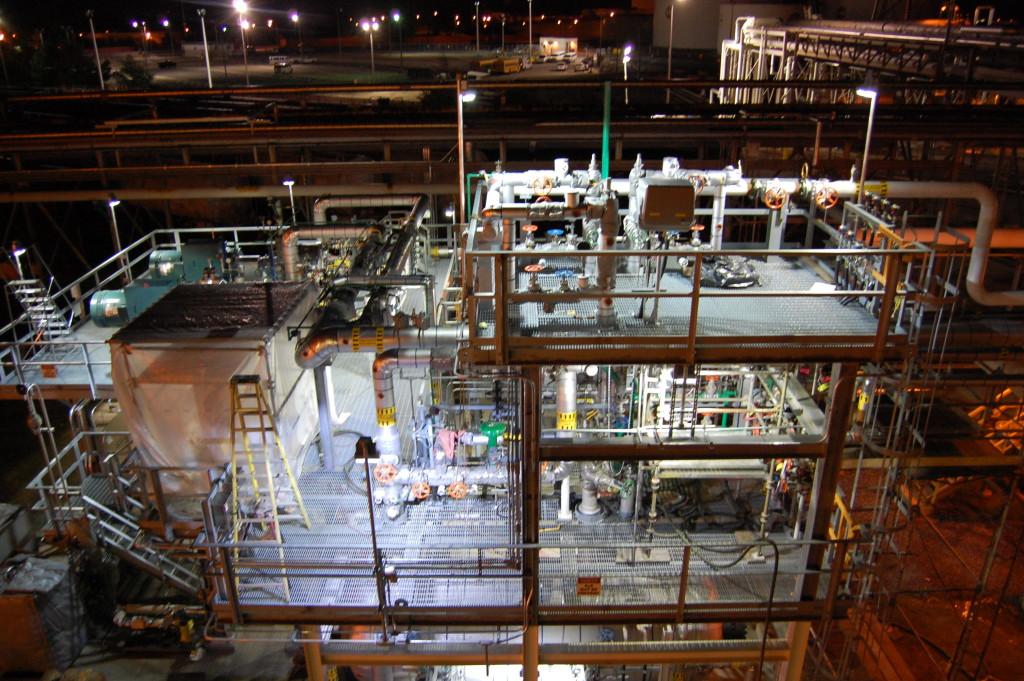 Освещение безопасности на производстве