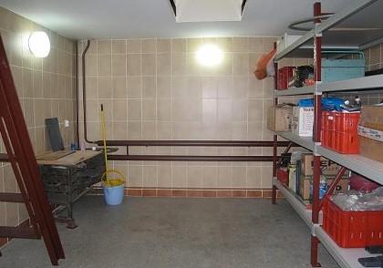 Освещение подвала гаража
