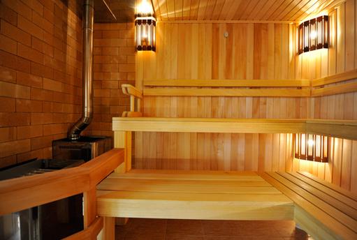 Правильное освещение в бане