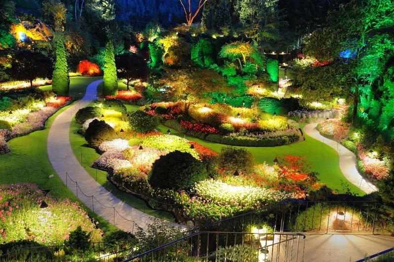 Садовое освещение участка загородного дома