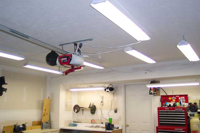 Создаем сеть освещения в гараже