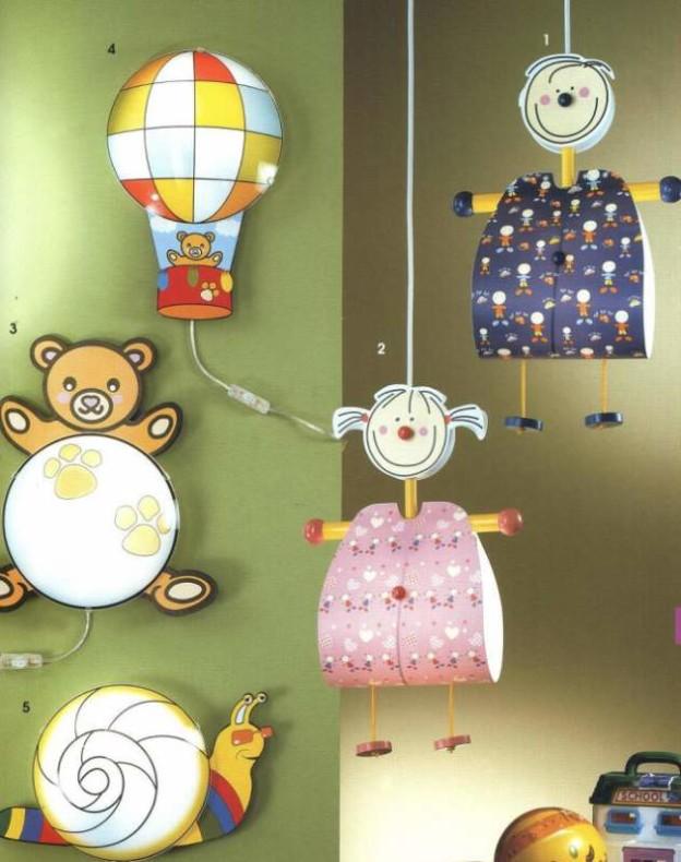 Абажур своими руками для детской комнаты для