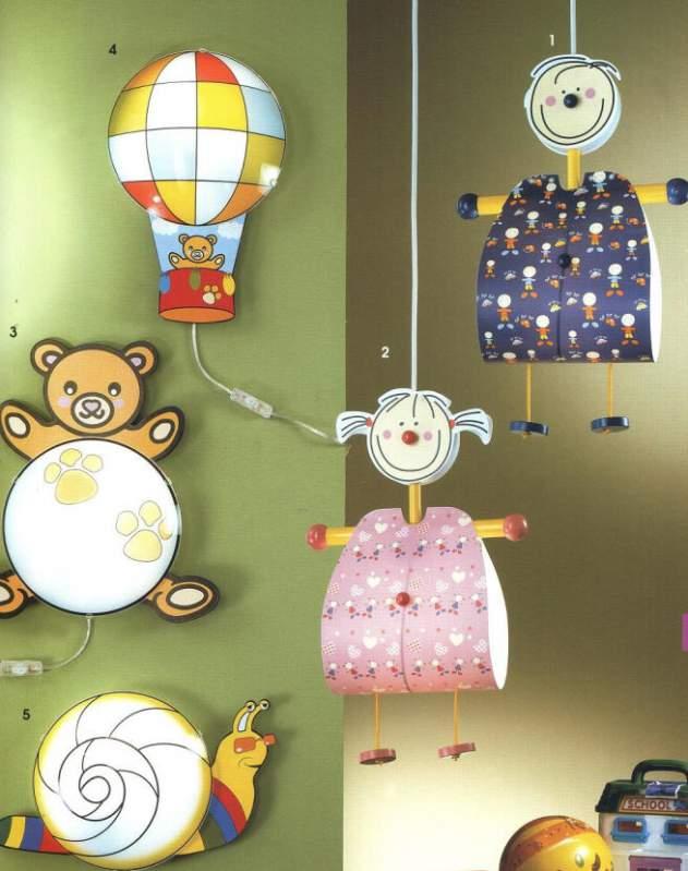 Светильники в детскую