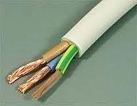 Для прокладки однофазной сети следует использовать трехжильный провод