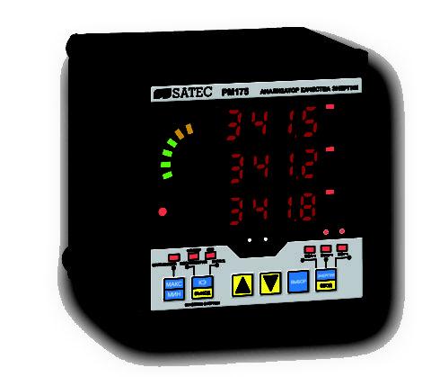 Прибор контроля качества электроэнергии трехфазный