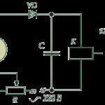 Схема работы датчика освещенности