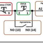 Схема управления пускателем