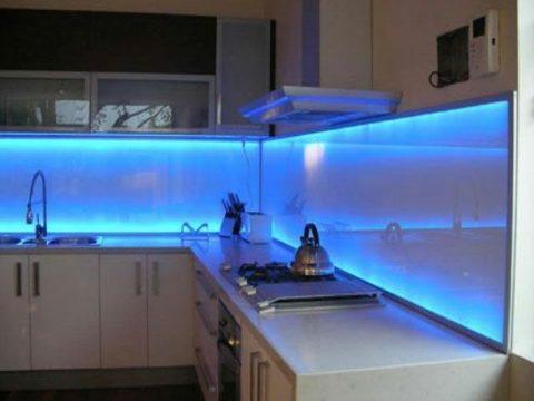 Светящийся фактор кухни