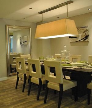 Зональное освещение для кухни