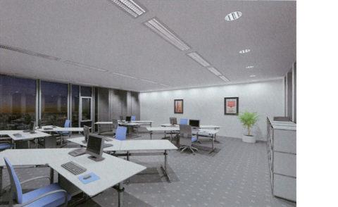 Дежурное освещение офиса